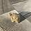 """Thumbnail: 2"""" Turtle Figurine - Unakite"""