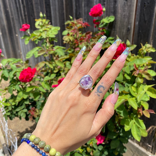 Amethyst - Baby Rizzo Ring