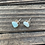 Thumbnail: Amazonite Studs - Silver post