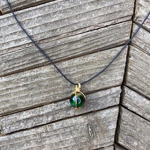 Green Tiger's Eye - Suli Pendant