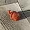 """Thumbnail: 2"""" Turtle Figurine - Red Jasper"""