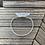 Thumbnail: Clear Quartz Point Cuff - Silver