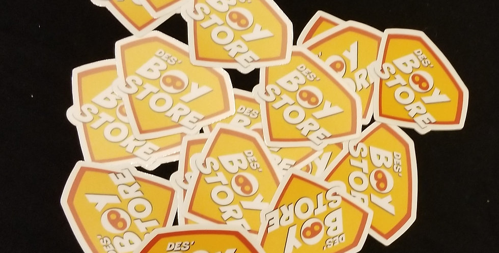 Des' Boy Store Sticker