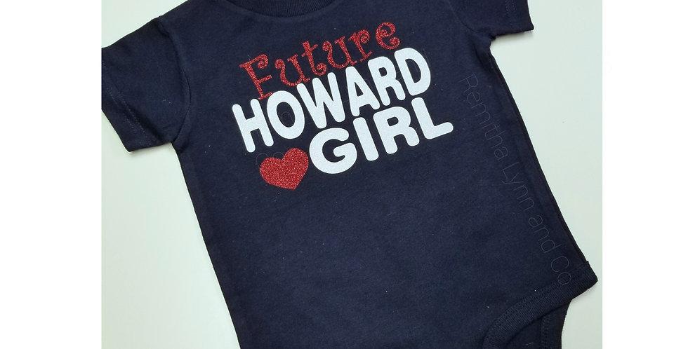 Future Howard Girl Onesie