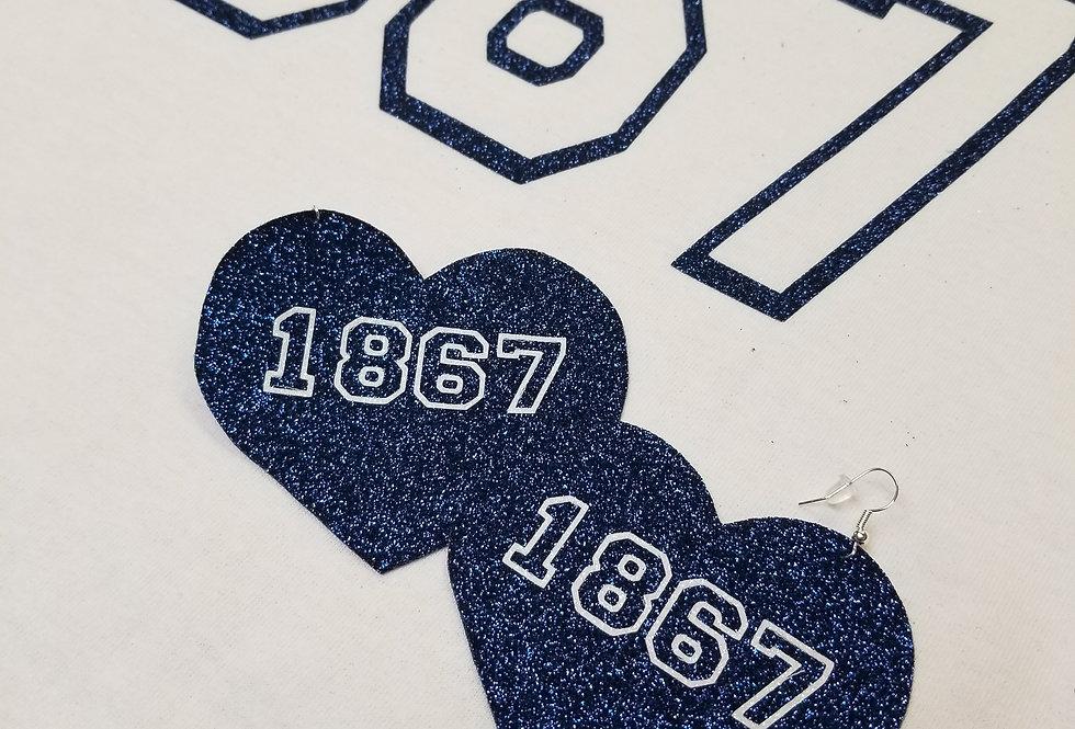 Simply 1867 Glitter Earrings