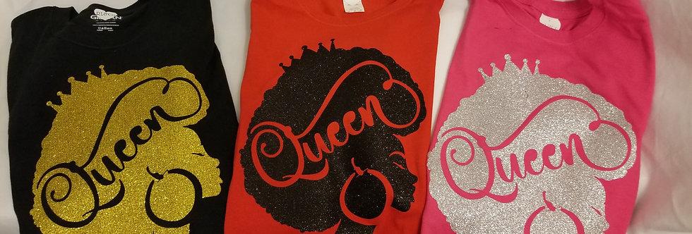 Afro Queen Tee