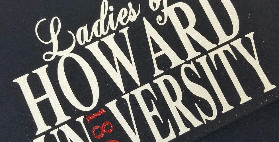 Ladies of Howard University Tee