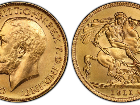 The World's rarest Gold Sovereigns Part 4: Edward II-George V