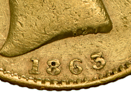 "The Legendary 1863 Gold Sovereign ""Die 827"""
