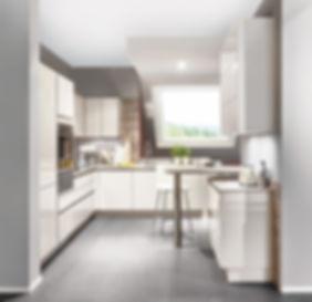 Cocinas modulares con electrodomésticos encastrados
