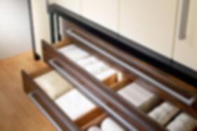 Cajones amplios en armarios a medida