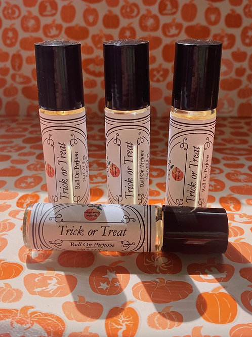 Trick or Treat Roll On Perfume