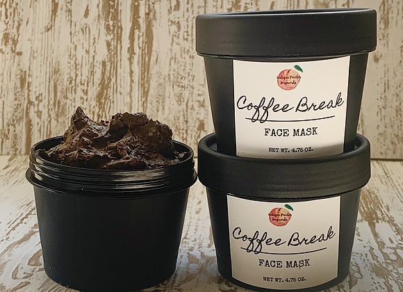 Coffee Break Clay Face Mask