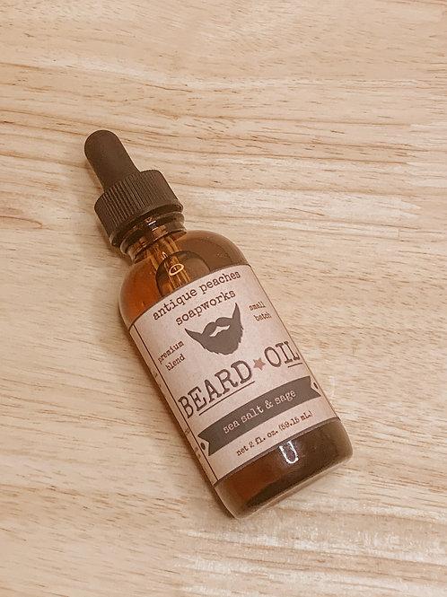 sea salt & sage beard oil