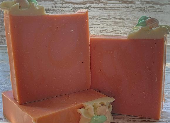 Market Peach Bar Soap