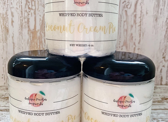 Coconut Cream Pie Whipped Body Butter