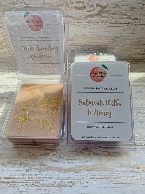 Oatmeal, Milk, & Honey Wax Melts