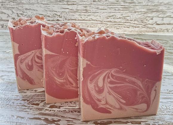 Pink Amber & Vanilla Bar Soap