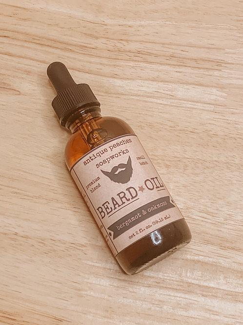 bergamot & oakmoss beard oil