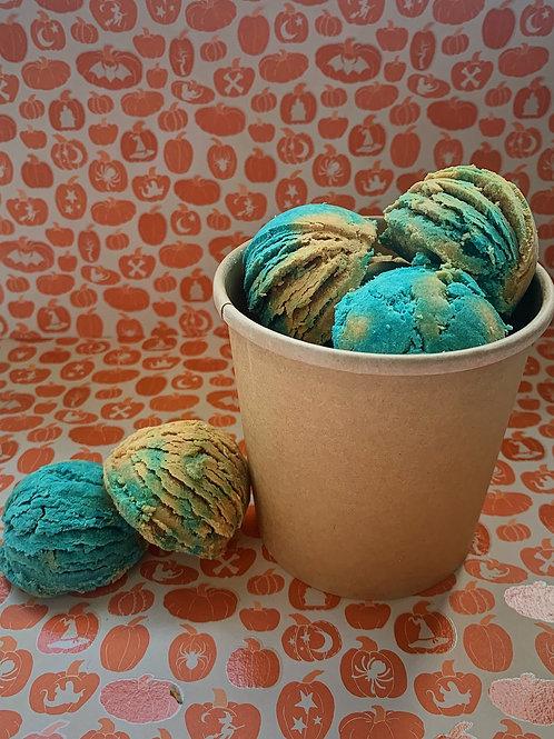 Blueberry Pumpkin Bubble Scoops