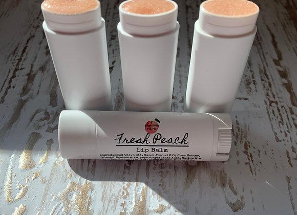 Fresh Peach Lip Balm