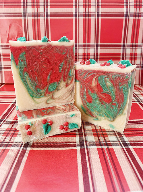 Mistletoe Kisses Bar Soap