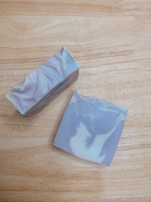 lavender & vanilla bar soap
