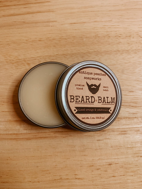 blood orange & patchouli beard balm