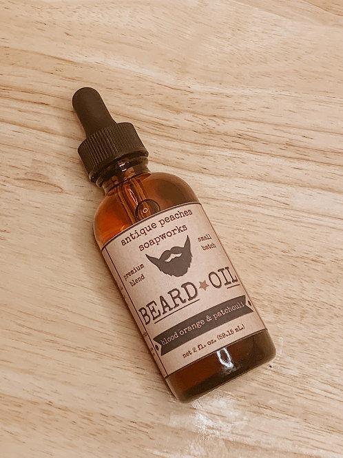 blood orange & patchouli beard oil