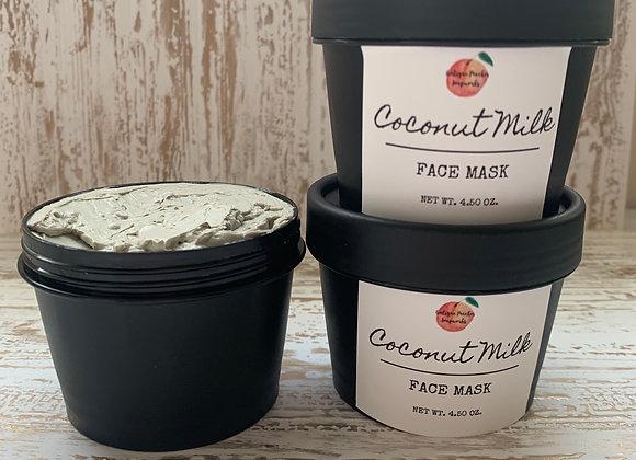 Coconut Milk Clay Face Mask