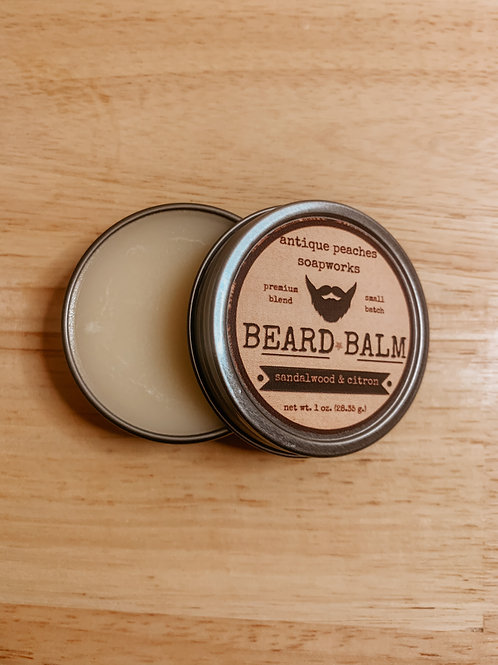 sandalwood & citron beard balm