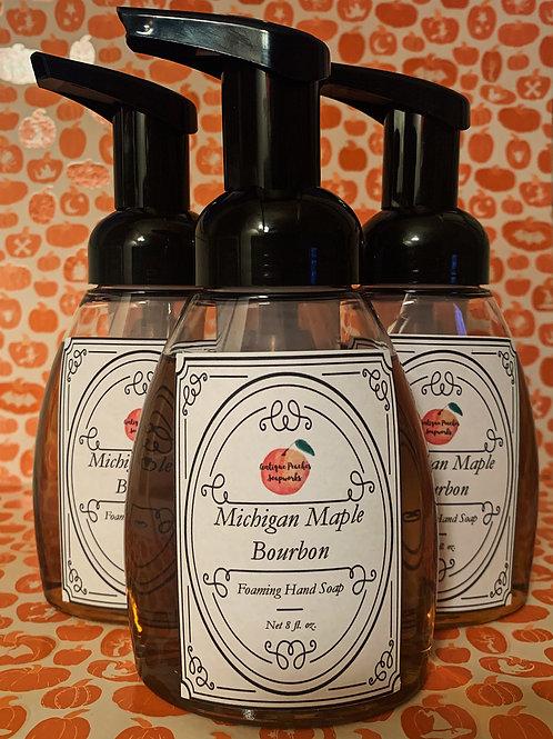 Michigan Maple Bourbon Foaming Hand Soap