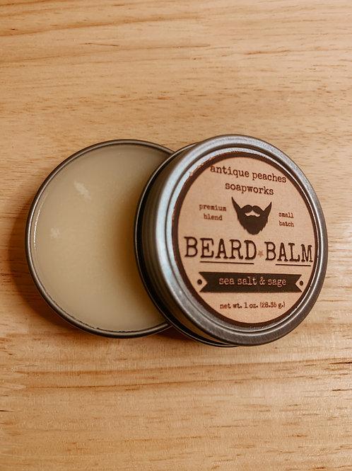 sea salt & sage beard balm