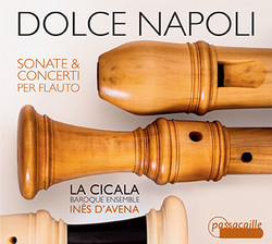 CD Dolce Napoli, front cover