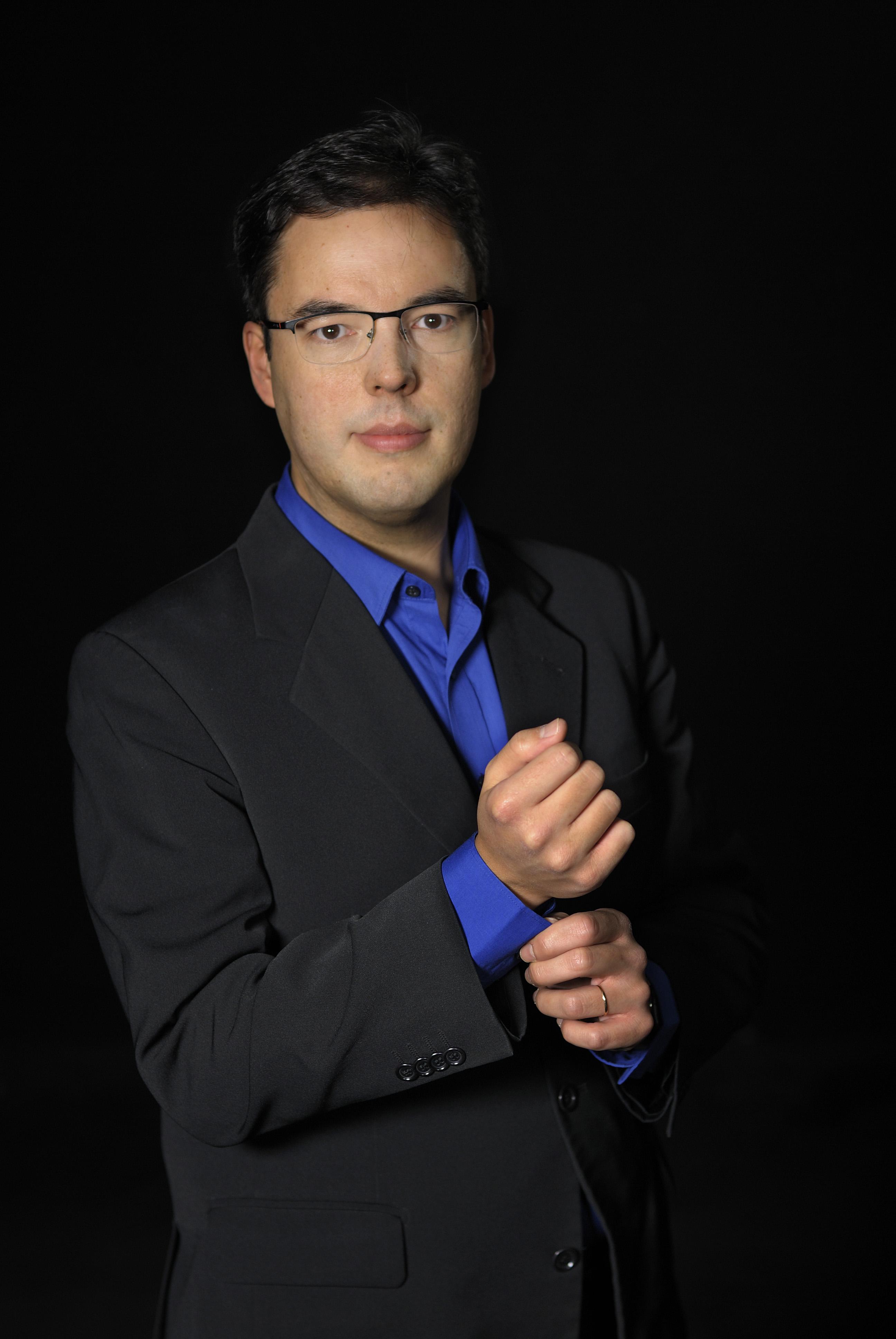 Claudio Ribeiro, harpsichord
