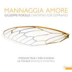 Front Cover CD 'Mannaggia Amore'