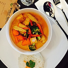 Lunch Panang curry
