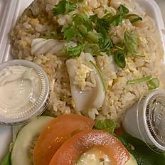 Squid Fried Rice