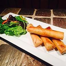 Crispy vegetable roll (4 rolls)
