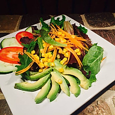 World Grills salad