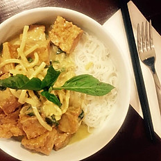 Lunch Green curry