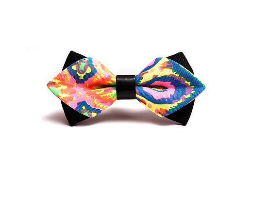Double Layer Bright Multi Bow Tie