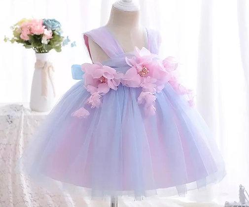 Miss Boss Soft Tulle Baby Flower Girl Dress