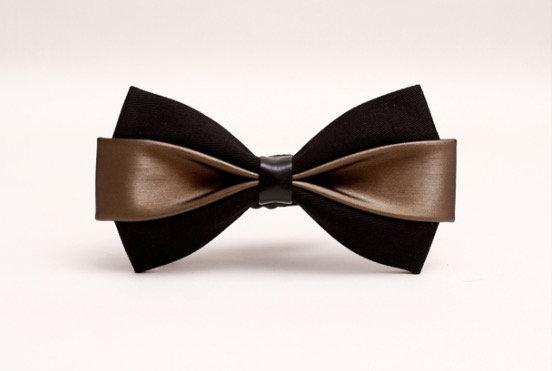 Stylish Brown Bow Tie