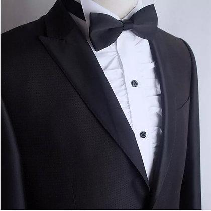 Men Tuxedo White Ruffle Evening Shirt
