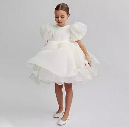 Miss Boss Organza Flower Girl Dress