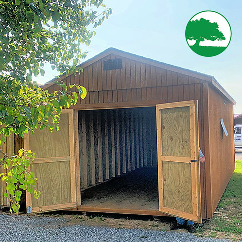"""*SOLD* PRE-OWNED 12' x 20' Treated """"Utility"""""""