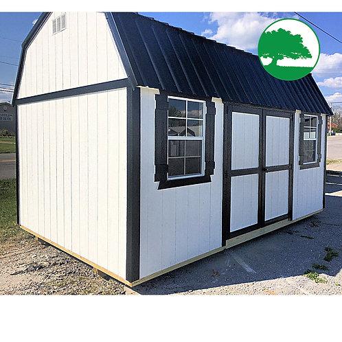 "10' x 16' Painted ""Side Lofted Barn"""