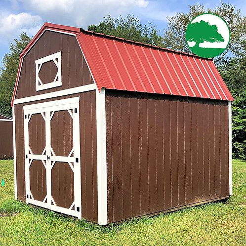 "*DEMO* 10' x 12' Painted ""Lofted Barn"""