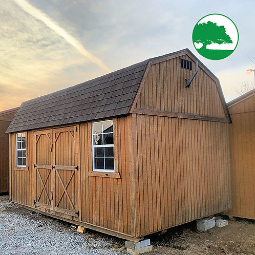 "PRE-OWNED 10' x 16' Treated ""Side Lofted Barn"""
